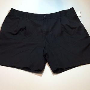 Perry Ellis mens pleated shorts waist 42